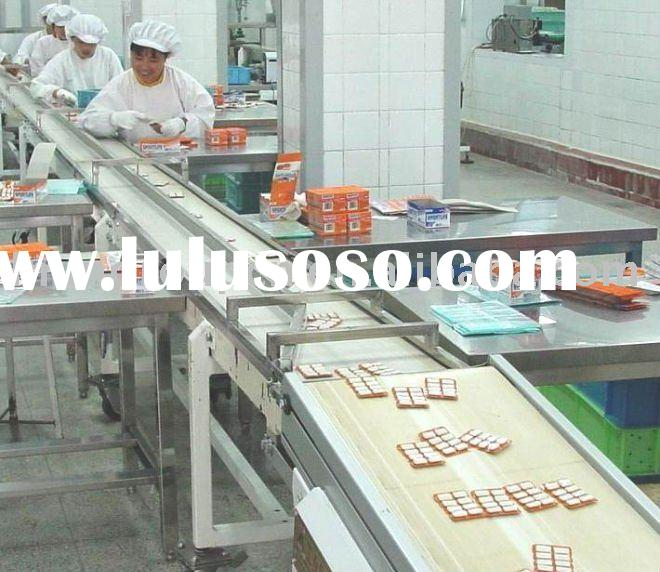 industrial production line steel rubber belt conveyor system