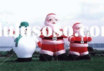 inflatable christmas Santa Claus, snowman inflatable Christmas product, Xmas