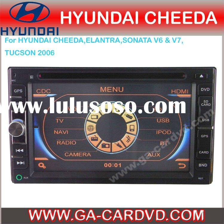 kia carnival RIO car audio player with bluetooth\GPS\IPOD\RSD