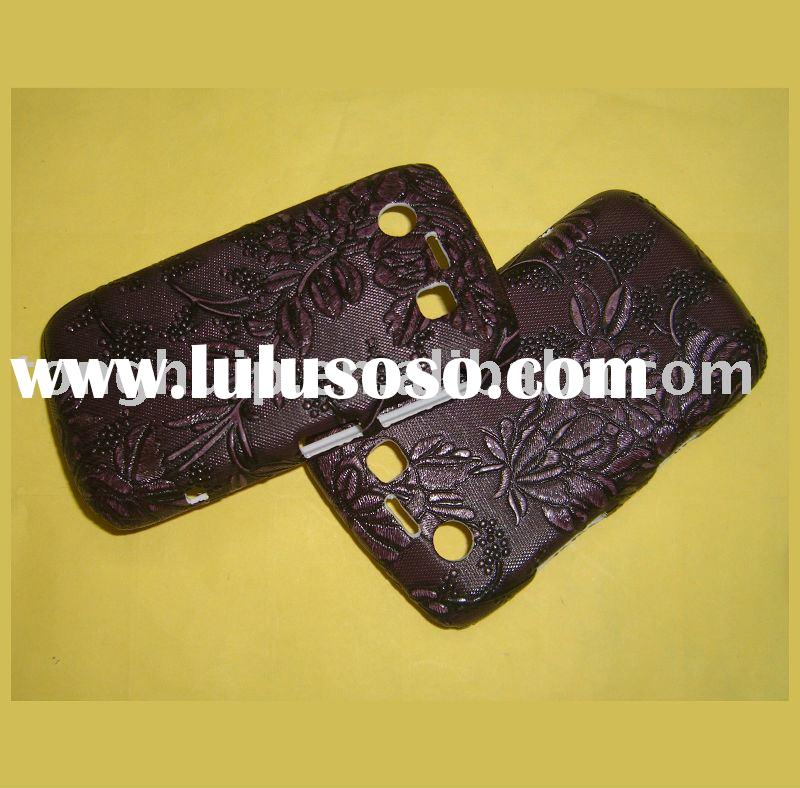 leather mobile phone case for blakberry 9700