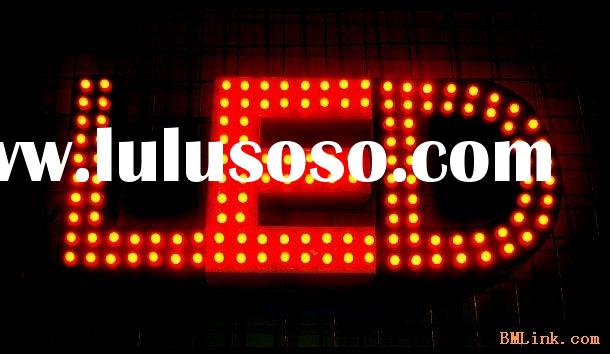 led letter signboard(outdoor sign luminous source)