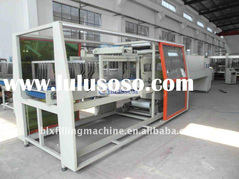 liner automatic shrink wrapping machine (automatic wrap bottle packing machine )