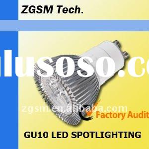 low price high quality GU10 3*1W led spotlighting