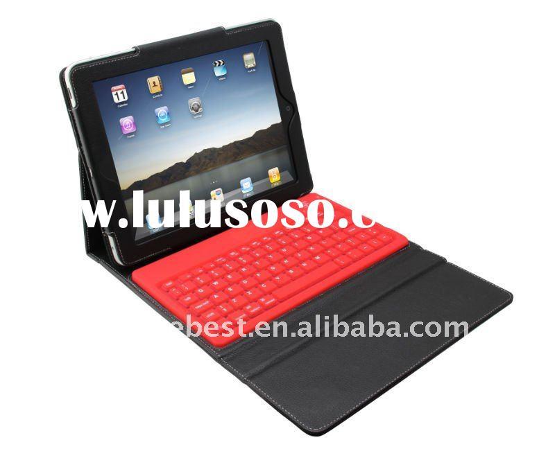 mini bluetooth keyboard for ipad 2 with leather case
