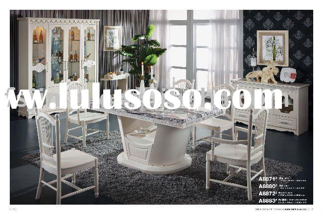modern marble top Dining Room Set A8871#