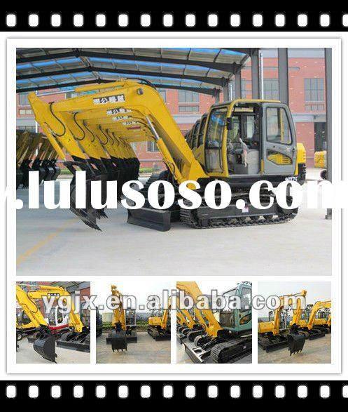 new caterpillar hydraulic excavator r for sale 7tons with low price, heavy construction machinery