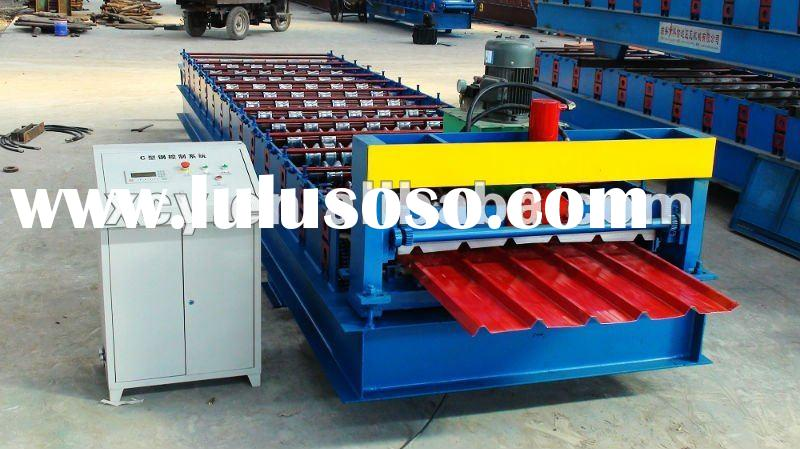 new style 1010 color steel roof panel roll forming machine
