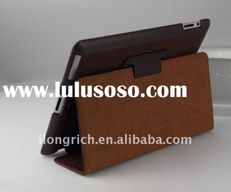 newest Real Leather Cases for ipad 2, leather case for ipad 2, case for ipad 2, fashion case for ipa