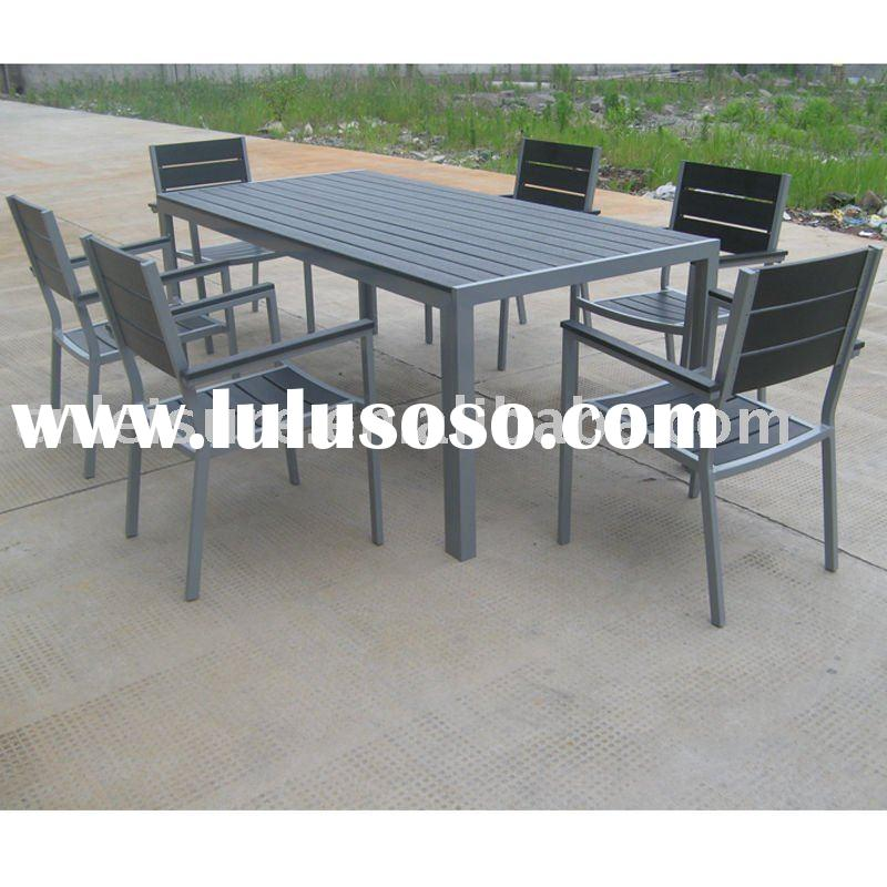 Anodized aluminum anodized aluminum outdoor furniture for Pvc pipe outdoor furniture