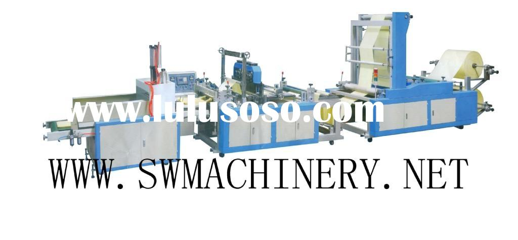 plastic patch bag making machine(handle bag making machine,soft loop handle bag making machine)