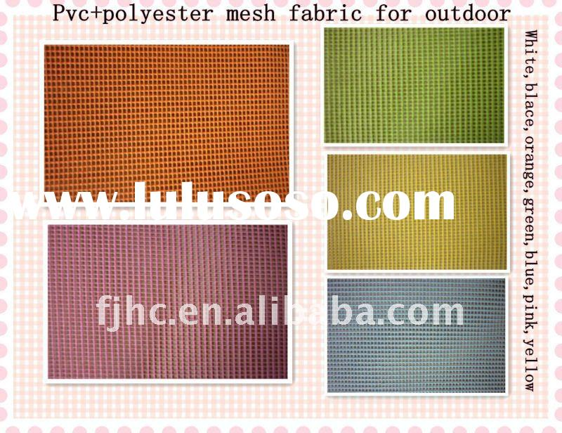 polyester mesh fabric coated PVC