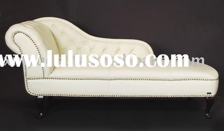 queen chair,lounge bed,sofa bed,classic furniture,leather bed