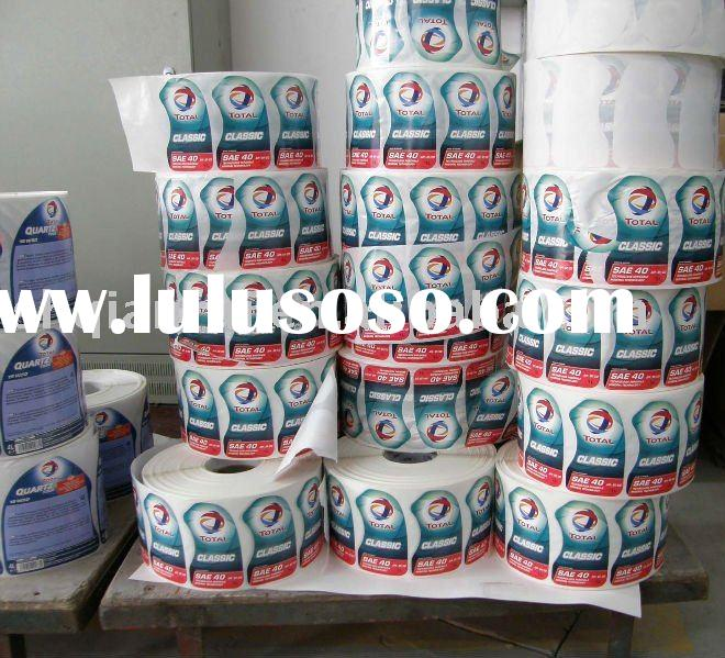 roll adhesive label Paper adheive roll sticker