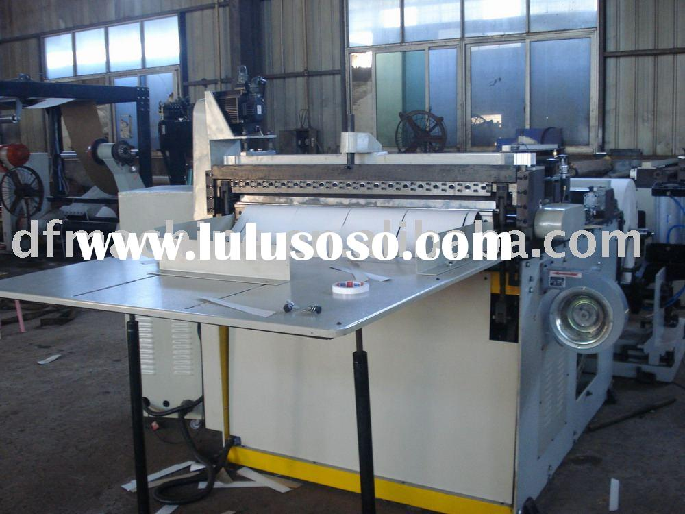 roll to A4 size paper sheeting machine