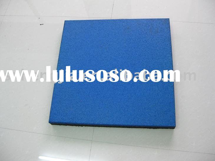 rubber tiles outdoor playground