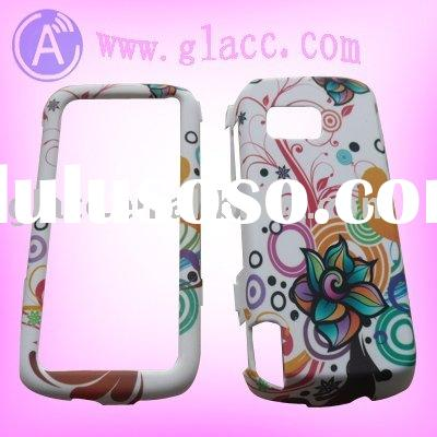 rubberized design plastic case for nokia 5230