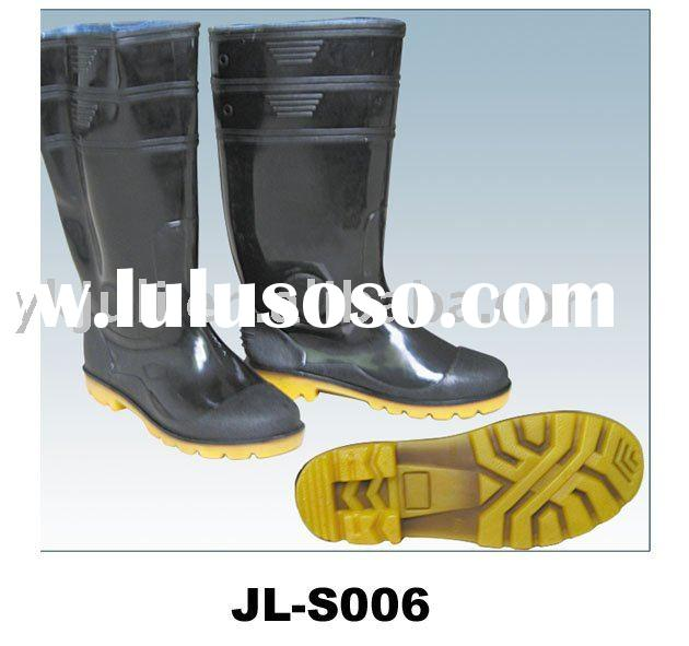 safety boots/rubber rain boots/safety work shoes/safety footwear