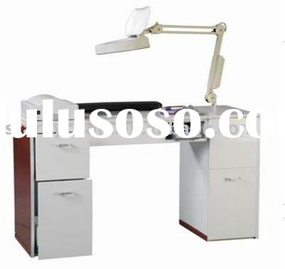 salon beauty manicure nail table