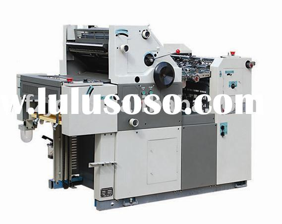 single color offset printing machinery ZJ47A/56A with stable performance