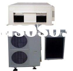 solar air conditioner, solar duct air conditioner, Energy Efficient Solar Assisted Concealed Ducted
