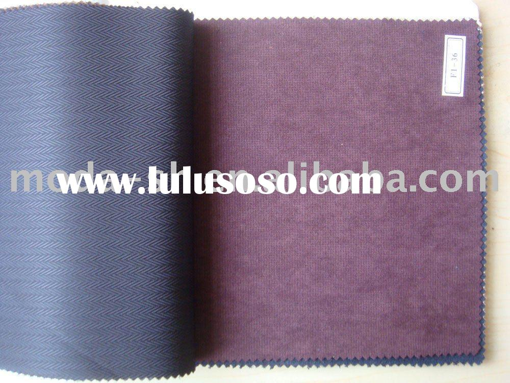 stretched micro suede weft knitted imitation chammy chamois fabric