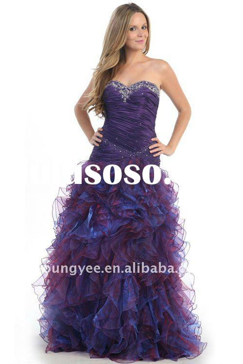 sweetheart neckline,young girls party dresses, 2011 evening dress