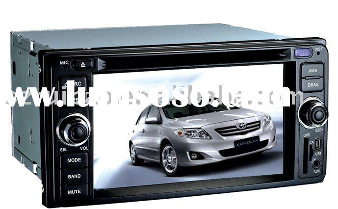 toyota old corolla special car dvd player