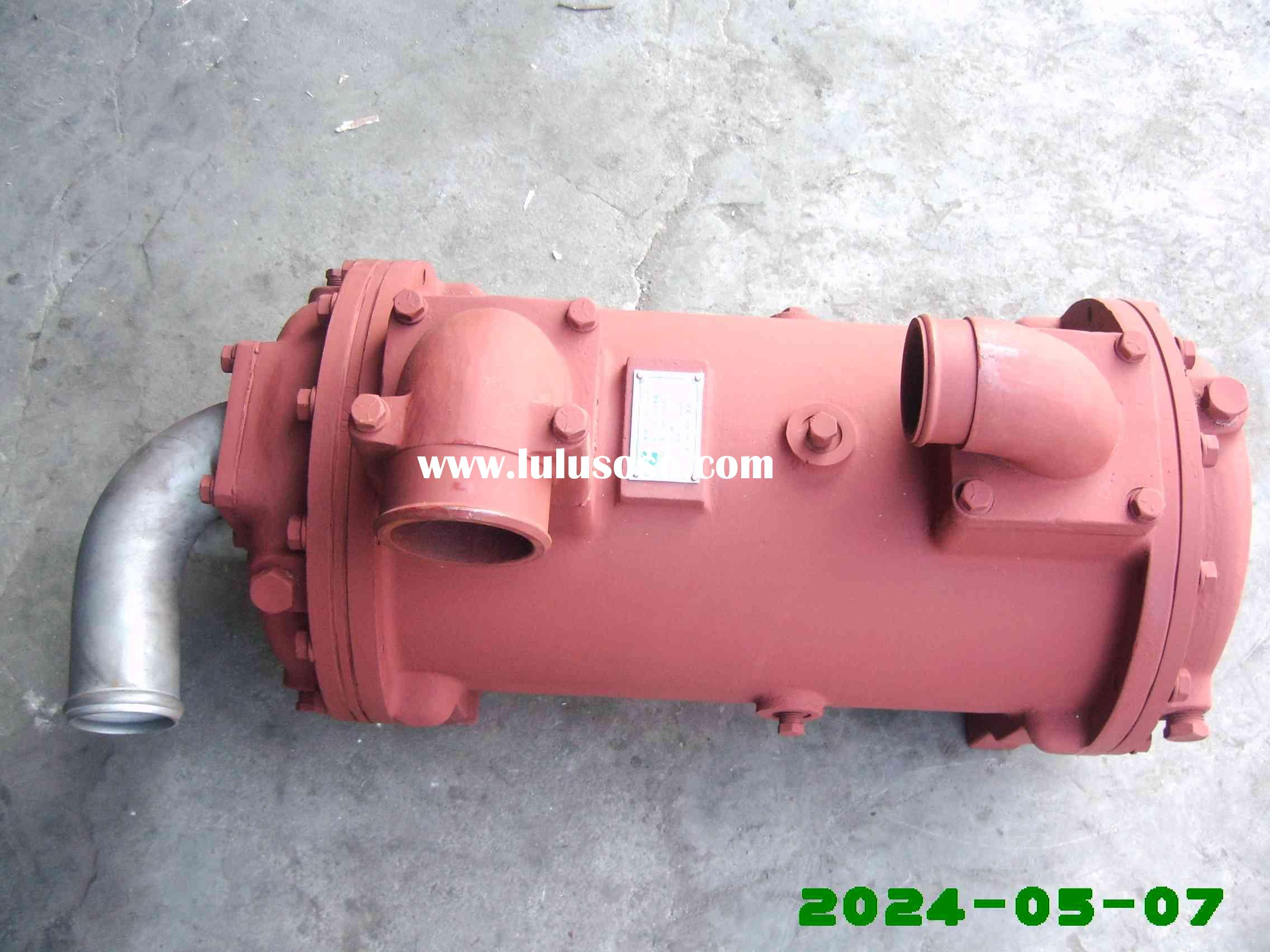 used cummins diesel engine parts NT855-M270 cummins heat exchanger 3655859 for Export Water Pump Uni