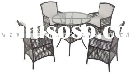 wicker furniture outdoor table-chair set WJK-TC-30