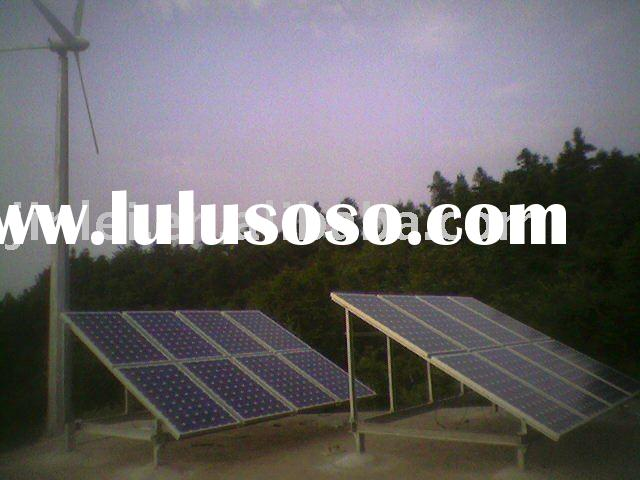 wind solar hybrid power system 1kw
