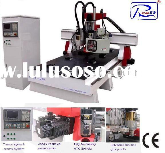 woodworking machine/wood cnc router/wood engraving machine RJ1325 ATC