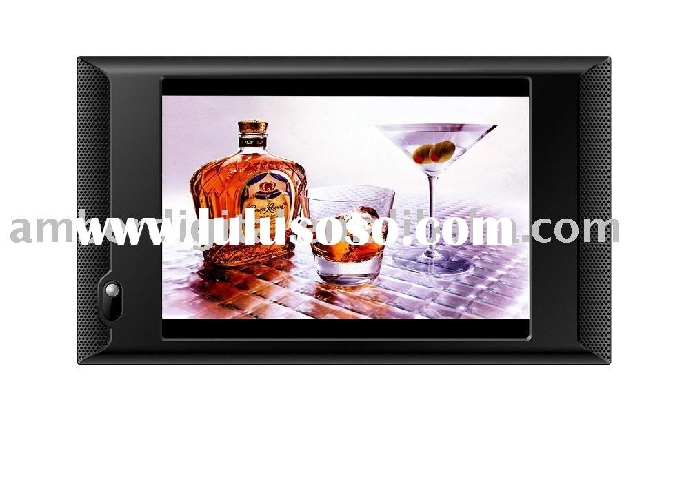 """10""""Motion Activated Video Media Player, POS screen, LCD Advertising Players."""