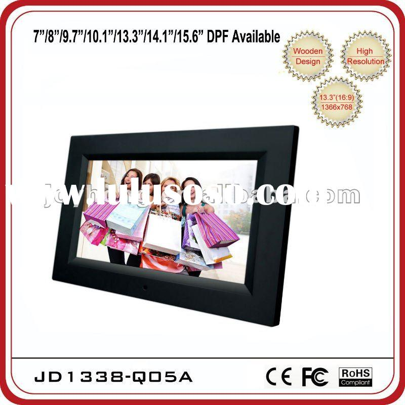 13.3 inch slim and big design full function Digital photo frame