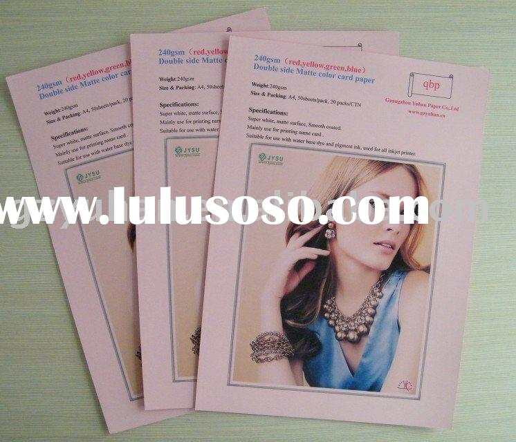 160gram art paper for inkjet printing