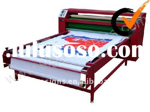 1700mm Large Format Separation Style Heat Transfer Machine with Oil-warming Blanket