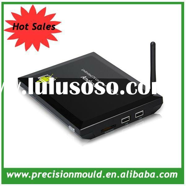 2012 New style i box satellite receiver android tv box, 1080P media player