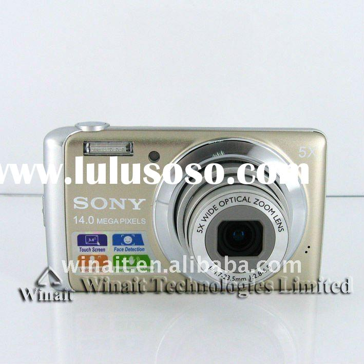 5X optical zoom SONY CCD digital camera with 14MP effective resolution