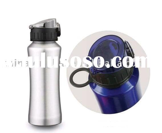 600ML Aluminum wide mouth sport water bottle