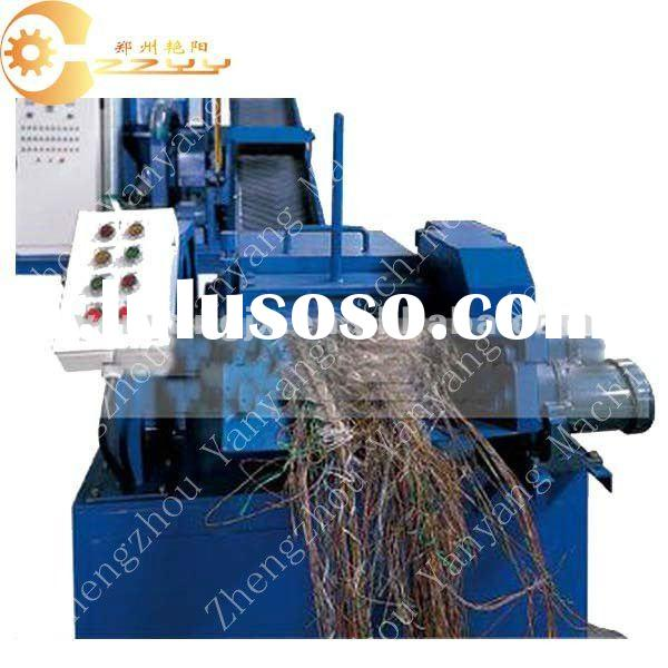 Aluminium And Copper Cable Wire Recycling Machine