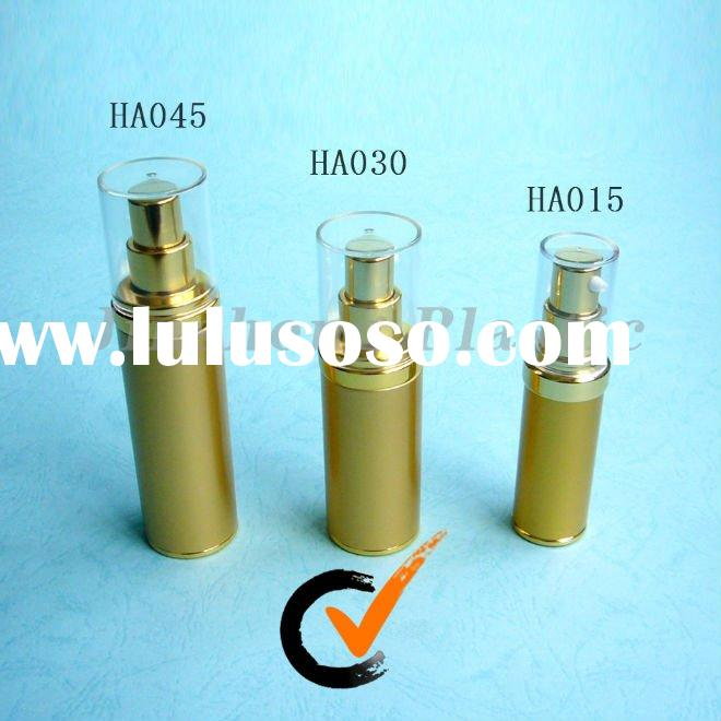 Aluminum Airless Plastic Cosmetic Packaging Health Care Bottles