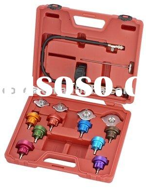 CAR REPAIR TOOLS - Universal radiator pressure tester kit