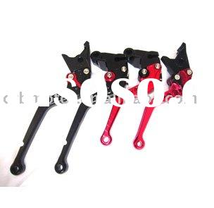 CNC Aluminum Adjustable Pit Dirt Bike ATV Motorcycle Scooter Brake Lever Clutch Lever for KAWASAKI