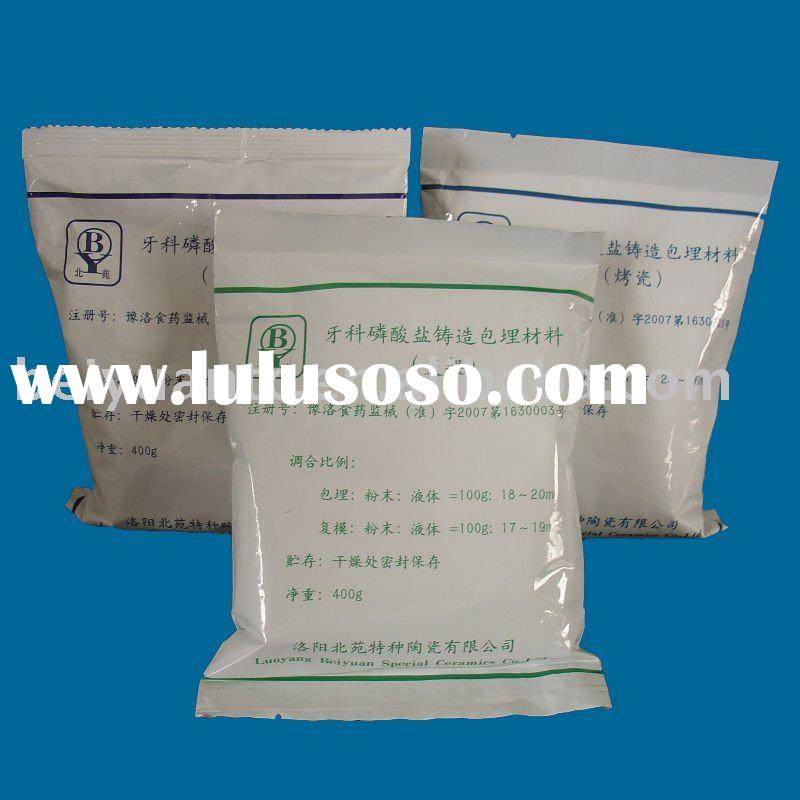 Dental phosphate bonded investment material for sale ...