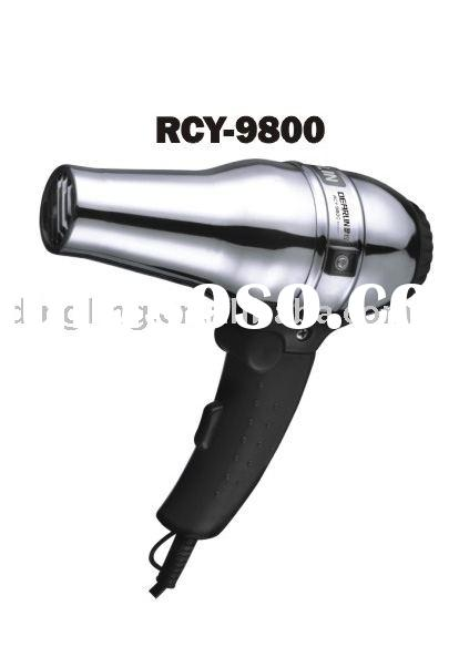 Electric hair drier,professional hair dryer,family use hair drier(RCY9800)
