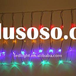 For outdoor and indoor use decorate christmas window lights LED Water flow string light