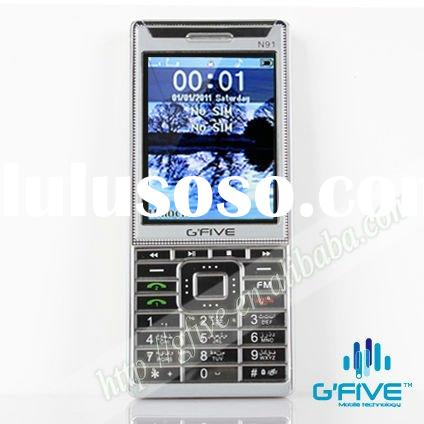 G'FIVE N91 super slim phone with dual sim cards dual standby and multimedia music