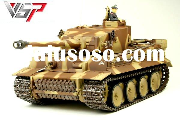 German WWII Tiger RC tank model