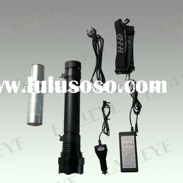 High Power Rechargeable Aluminium Flashlight Rechargeable Torch