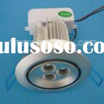 High power SSC 3X3W recessed led ceiling downlight