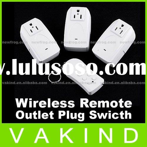 Indoor Wireless Remote Control Power Outlet Plug Swicth
